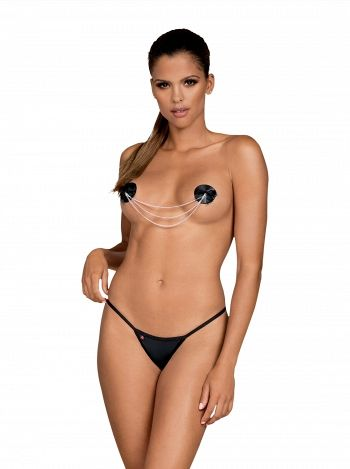 Nipple covers A749, Obsessive, Negru