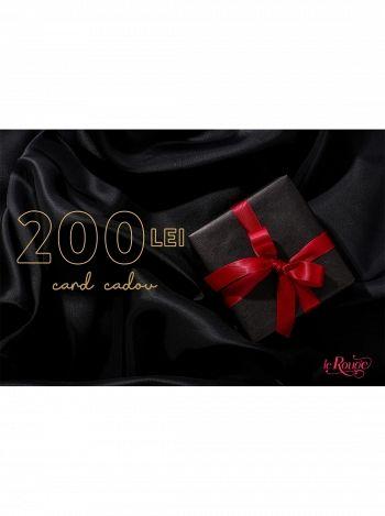 Voucher cadou in valoare de 200lei