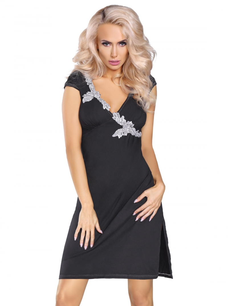 Pijama Sylvia, LivCo, negru