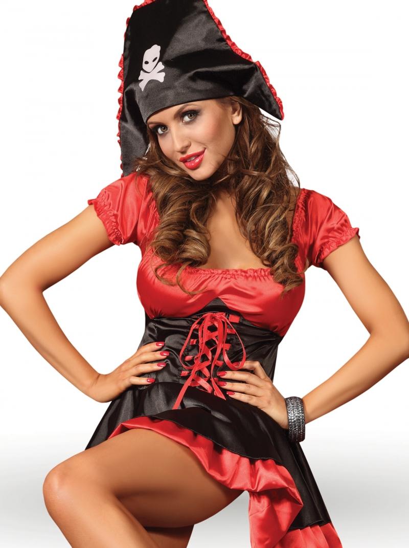 Costum sexy Nemesis, LivCo, negru