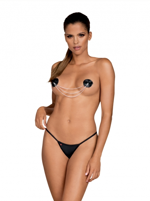 Nipple covers A749, Obsessive, Negru
