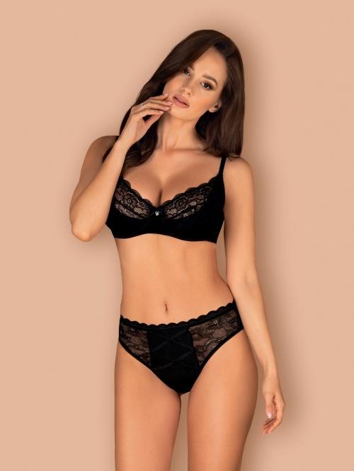 Set sexy Laurise Obsessive, Negru
